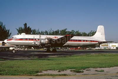 Trans Air (Haiti Trans Air) Douglas DC-7B (F) N1097 (msn 45342) MIA (Bruce Drum). Image: 104894.