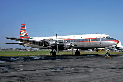 Martinair Holland-MAC Douglas DC-7C PH-MAK (msn 45541) MIA (Jacques Guillem Collection). Image: 939842.