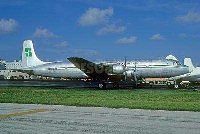 Millon Air Douglas DC-7C (F) N103LM (msn 45188) MIA (Bruce Drum). Image: 103755.