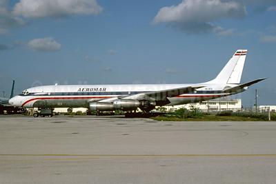 Aeromar Airlines (Lineas Aereas Dominicanas) Douglas DC-8-33 (F) HI-413 (msn 45387) MIA (Bruce Drum). Image: 103522.