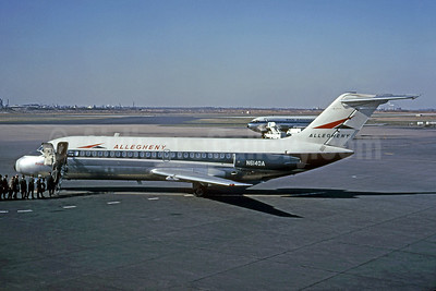 "Best Seller - ""Vistajet"" - Allegheny-USAir's first jet - delivered July 29, 1966"