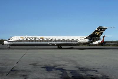 Aeropostal Venezuela McDonnell Douglas DC-9-51 YV-32C (msn 47770) CCS (Christian Volpati). Image: 935646.
