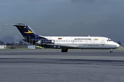 Aeropostal (Venezuela) McDonnell Douglas DC-9-21 YV-13C (msn 47301) BOG (Christian Volpati). Image: 950124.