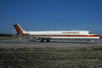 Allegheny Airlines (1st) McDonnell Douglas DC-9-51 N923VJ (msn 47665) PIT (Elliot H. Greenman - Bruce Drum Collection). Image: 100918.