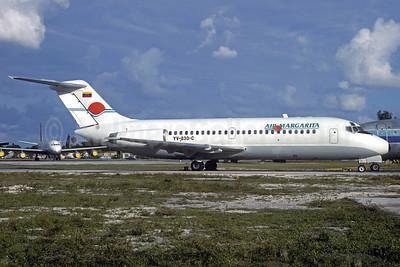 Air Margarita Douglas DC-9-14 YV-830C (msn 45699) OPF (Bruce Drum). Image: 103373.