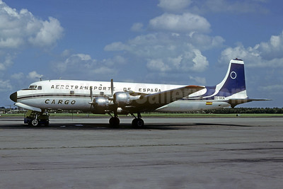 Aerotransporte de España Cargo Douglas DC-6B (F) EC-DCK (msn 45077) RTM (Christian Volpati Collection). Image: 950653.