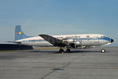 Air Congo Douglas DC-6B OO-GER (msn 43826) (SABENA colors) BRU (Jacques Guillem Collection). Image: 913856.
