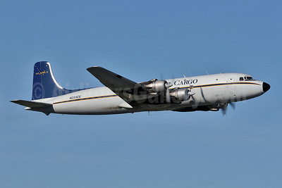 Everts Air Cargo Douglas C-118A-DO (DC-6A) N251CE (msn 44612) ANC (Keith Burton). Image: 901197.