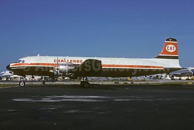 Challenge Air Transport-CAT (Bellomy-Lawaon Aviation) Douglas C-118A-DO (DC-6A) N3492F (msn 43574) MIA (Bruce Drum). Image: 103467.
