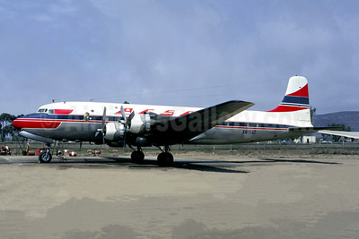 ACSA (Aerocarga) Douglas DC-6 XA-SAZ (msn 43293) ESE (Christian Volpati Collection). Image: 950588.
