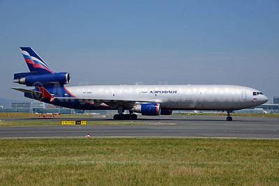 Aeroflot Russian Airlines McDonnell Douglas MD-11 (F) VP-BDR (msn 48503) FRA (Ton Jochems). Image: 913823.
