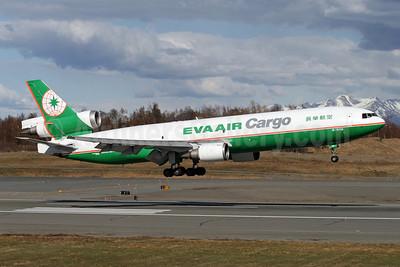 EVA Air Cargo McDonnell Douglas MD-11F B-16110 (msn 48786) ANC (Brian McDonough). Image: 906990.