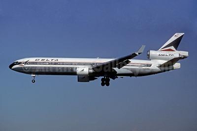 Delta Air Lines McDonnell Douglas MD-11 N891DL (msn 48411) DAL (Jay Selman). Image: 402197.