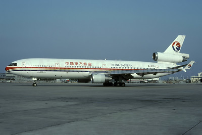 China Eastern Airlines McDonnell Douglas MD-11 B-2171 (msn 48495) SHA (Rolf Wallner). Image: 938541.