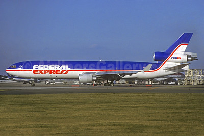 "Rare photo of ""Joshua"", delivered on September 22, 1993, crashed at Newark on July 31, 1997"
