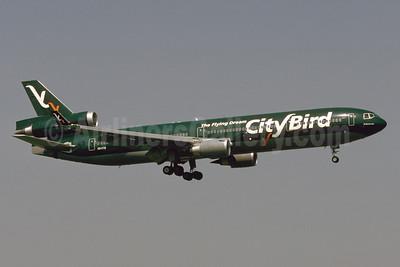 CityBird Airlines McDonnell Douglas MD-11 OO-CTB (msn 48766) ZRH (Bruce Drum). Image: 103923.