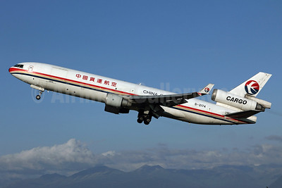 China Cargo Airlines McDonnell Douglas MD-11F B-2174 (msn 48498) ANC (Michael B. Ing). Image: 905243.