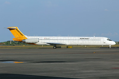 Airfast Indonesia McDonnell Douglas DC-9-82 (MD-82) PK-OCT (msn 49889) SUB (Michael B. Ing). Image: 923979.