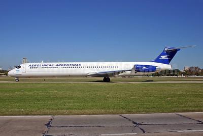 Aerolineas Argentinas McDonnell Douglas MD-88 LV-VCB (msn 53351) AEP (Marcelo F. De Biasi). Image: 900168.