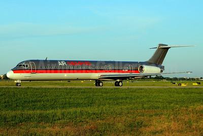 Air Memphis McDonnell Douglas DC-9-83 (MD-83) SU-BME (msn 49628) BLQ (Marco Finelli). Image: 934762.