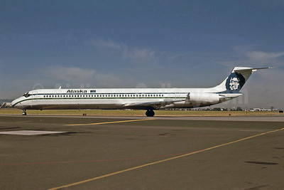 Alaska Airlines McDonnell Douglas DC-9-83 (MD-83) N930AS (msn 49231) SJC (Bruce Drum). Image: 100989.