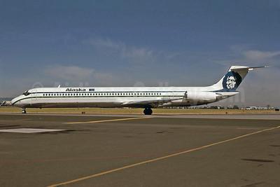 Alaska Airlines McDonnell Douglas DC-9-83 (MD-83) N930AS (msn 49231) SJC (Bruce Drum). Image: 100989.