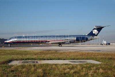 AeroMexico McDonnell Douglas MD-88 N168PL (msn 53174) MIA (Bruce Drum). Image: 100482.