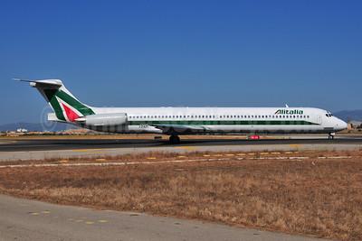 Alitalia (2nd) (Compagnie Aerea Italiana) McDonnell Douglas DC-9-82 (MD-82) I-DATI (msn 53218) PMI (Ton Jochems). Image: 903448.