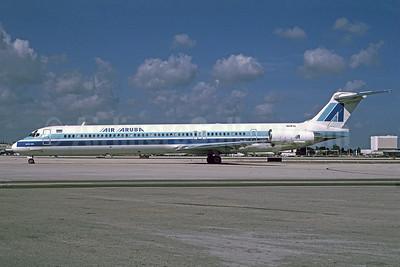 Air Aruba McDonnell Douglas MD-88 N11FQ (msn 49759) MIA (Bruce Drum). Image: 103397.