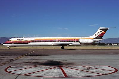 AirCal McDonnell Douglas DC-9-82 (MD-82) N478AC (msn 48063) OAK (Bruce Drum). Image: 102069.