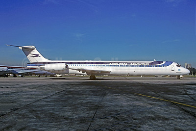 Aerolineas Argentinas McDonnell Douglas MD-88 LV-VGC (msn 53447) AEP (Christian Volpati). Image: 935541.