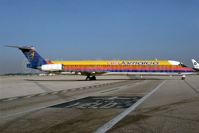 Air Jamaica McDonnell Douglas DC-9-83 (MD-83) N192AJ (msn 53192) MIA (Bruce Drum). Image: 102906.