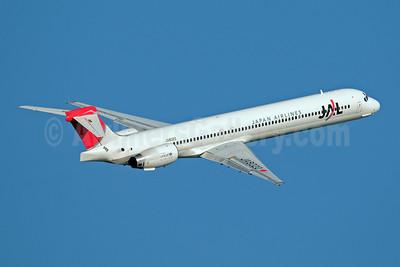 JAL-Japan Airlines McDonnell Douglas MD-90-30 JA8020 (msn 53360) HND (Akira Uekawa). Image: 906478.
