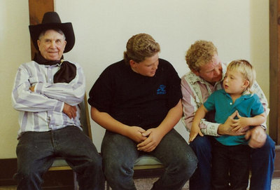 Flora and Doug, Rex, Kelly, Dusty