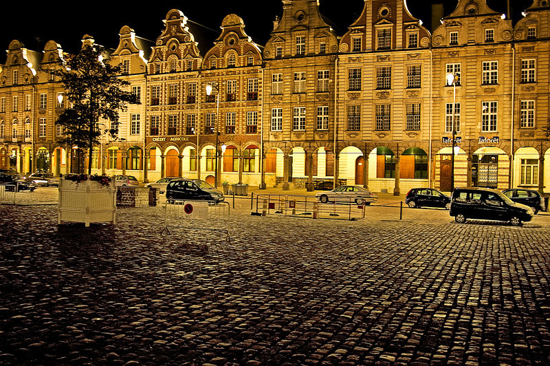 Grand' Place, Arras, France<br /> Second Place, SVCC, March 2008