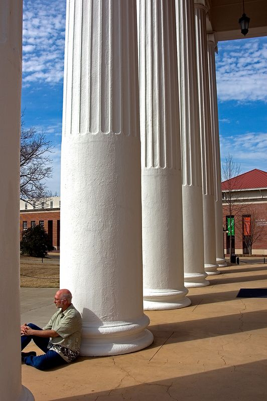 """Old Miss"" Campus <br> Oxford, Mississippi"