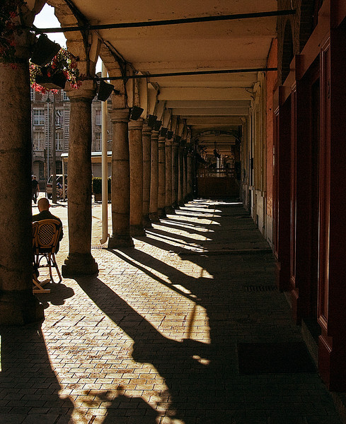 Street Scene,<br /> Arras, France