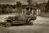 Model T Ford Pick-up Truck.  (Needs more than Gasoline!)<br /> Hardy, Arkansas