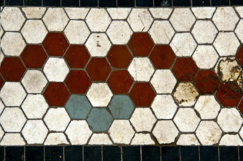 Floor Tiles<br /> Old Lyric Theatre<br /> Birmingham, Alabama