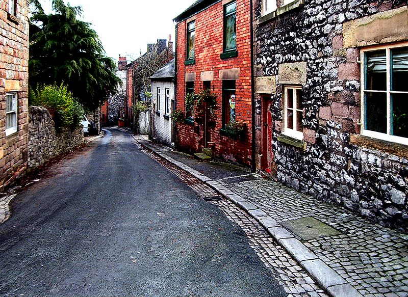 Wirksworth, Derbyshire, UK