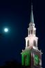 Harvest Moon over Samford University<br /> Homewood, AL