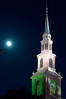 Harvest Moon over Samford University<br /> Homewood, AL