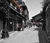 Street Scene,<br /> Yvoire, France