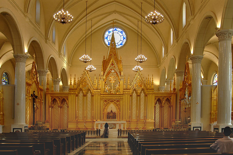 Shrine of the Most Blessed Sacrament<br />  Our Lady of the Angels Monastery<br /> Hanceville, Alabama