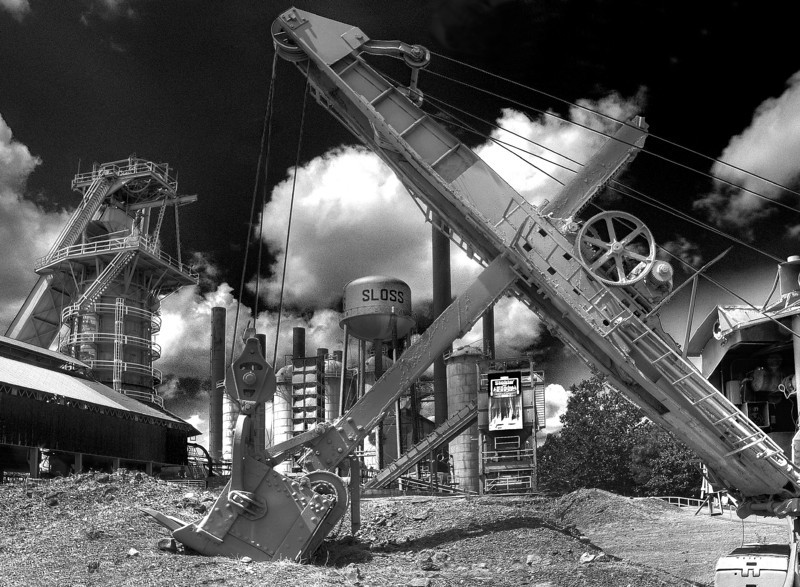 Steam Shovel<br /> Sloss Furnaces<br /> 3rd Place, SVCC<br /> Jan. 2013