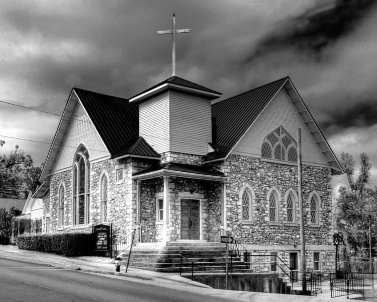Methodist Church.<br /> Mammoth Spring, AR