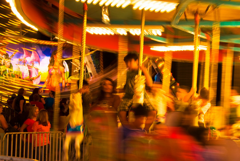 The Carousel, always a favorite for young children.