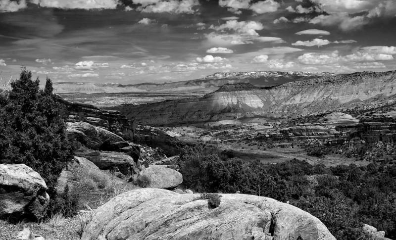 Near Red Canyon, Utah