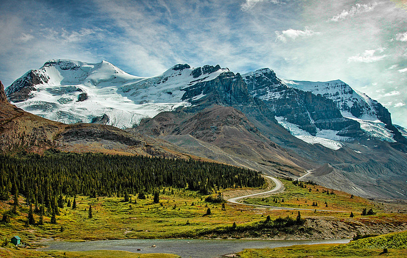 Mountain Road,<br /> Banff National Park