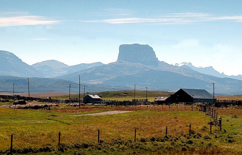 Barn &Butte